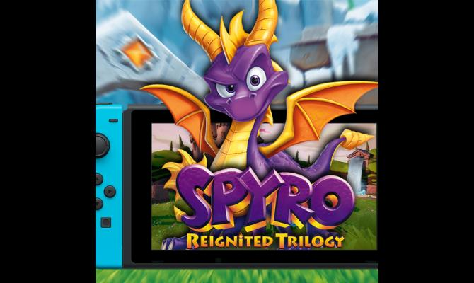 Ovaj vikend smo igrali Spyro Reignited Trilogy na Nintedno Switch konzoli!