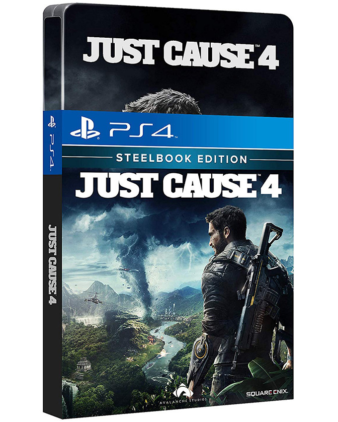 PS4 Just Cause 4 - Day One Edition Steelbook
