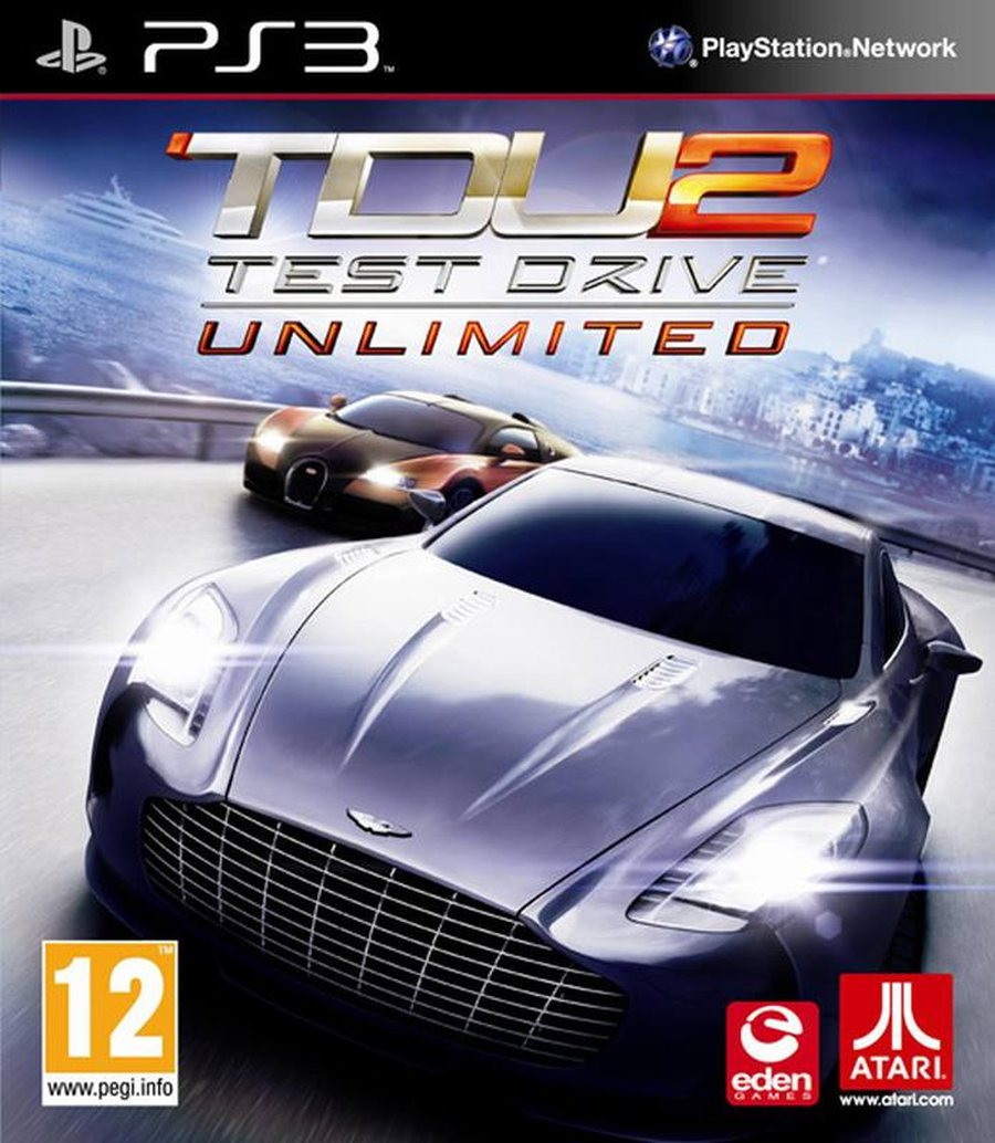 PS3 Test Drive Unlimited 2