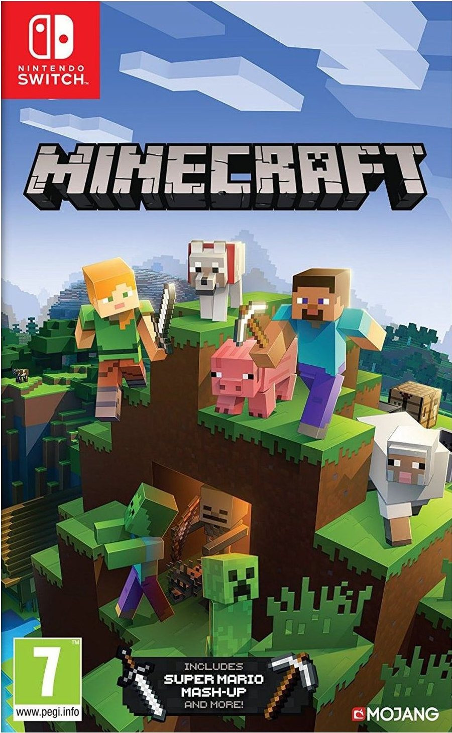 SWITCH Minecraft Bedrock Edition