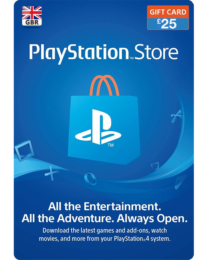 £ UK Playstation Wallet PSN Gift Card