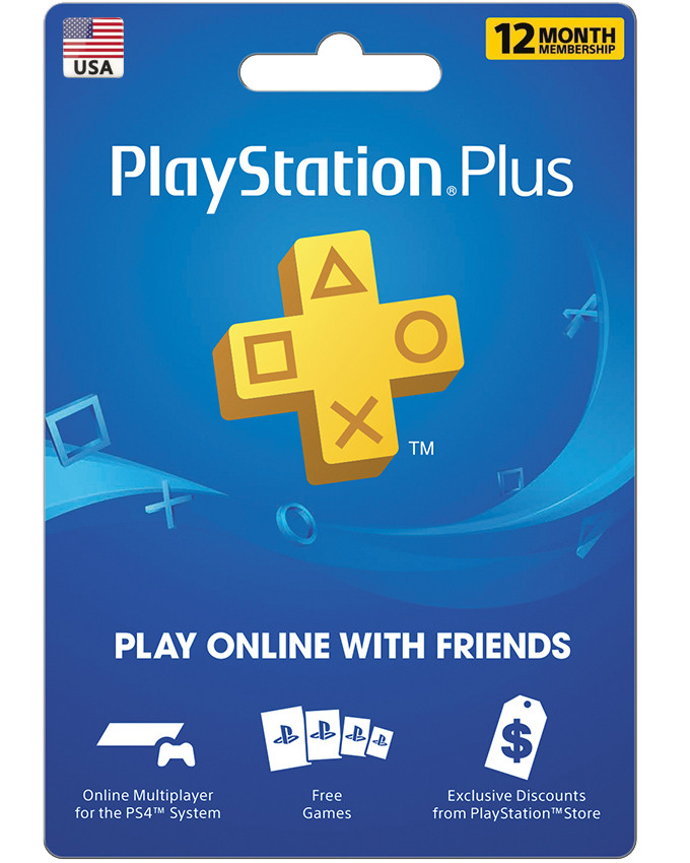 Playstation PSN Plus pretplata 12 meseci US nalog