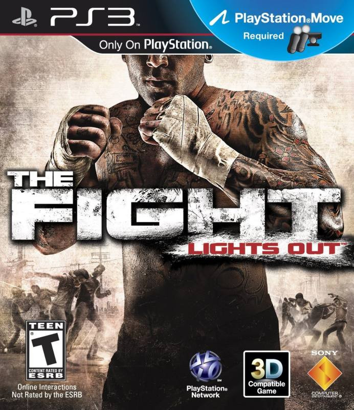 PS3 The Fight MOVE