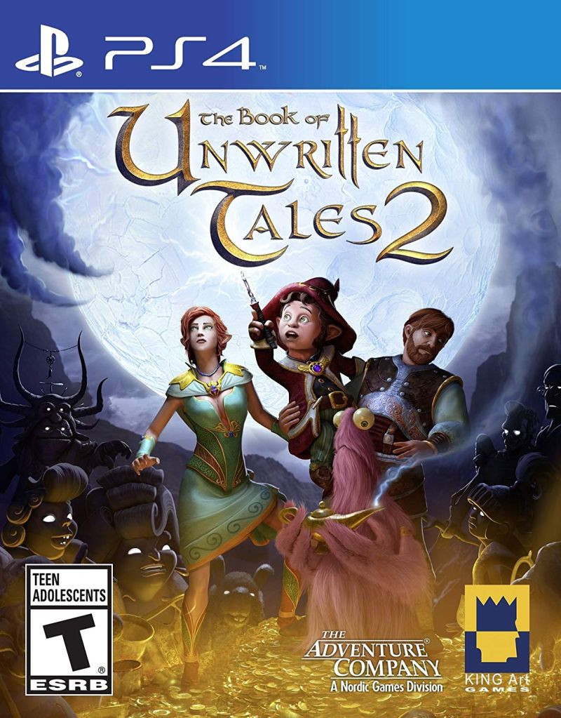 PS4 The Book Of Unwritten Tales 2