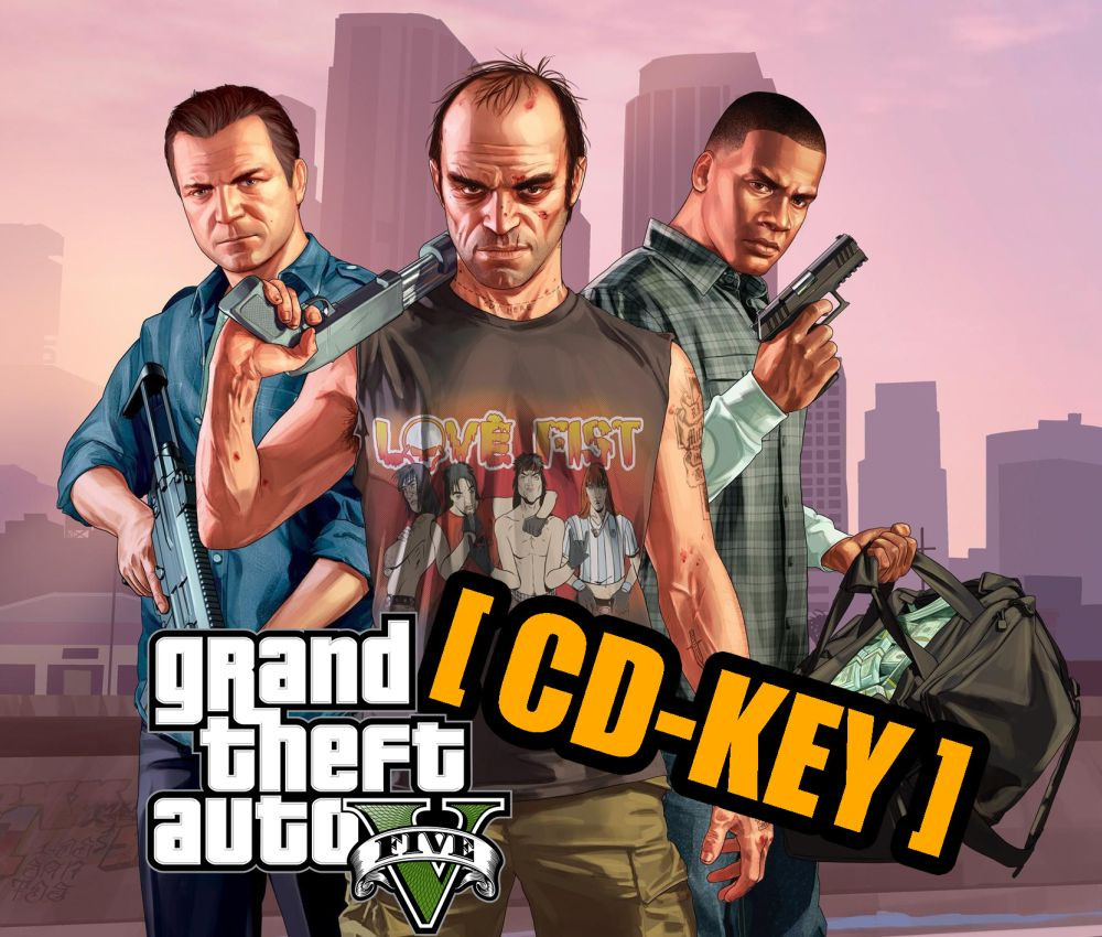 PCG Grand Theft Auto V (GTA 5 ) CD-KEY