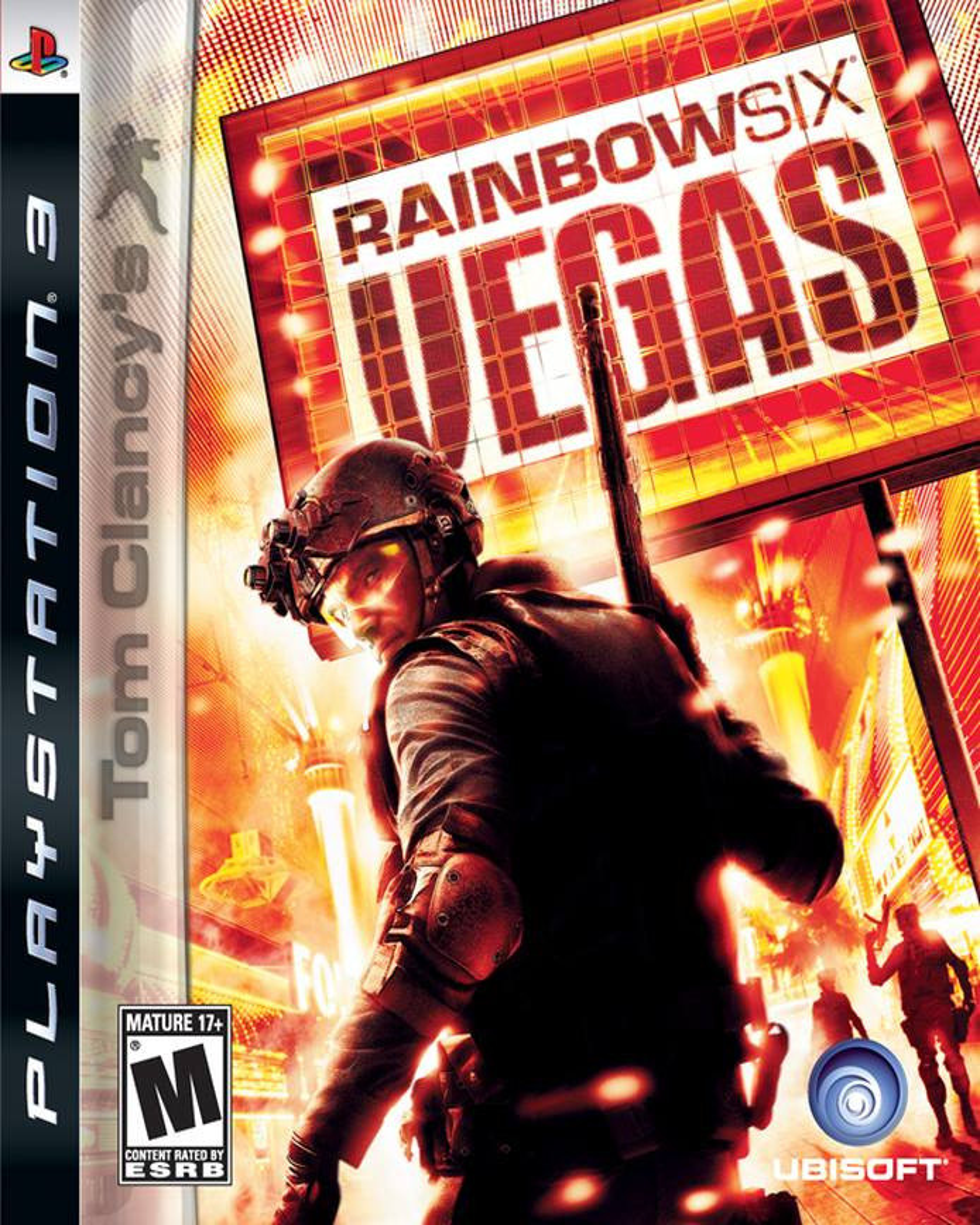 PS3 Tom Clancys Rainbow Six: Vegas
