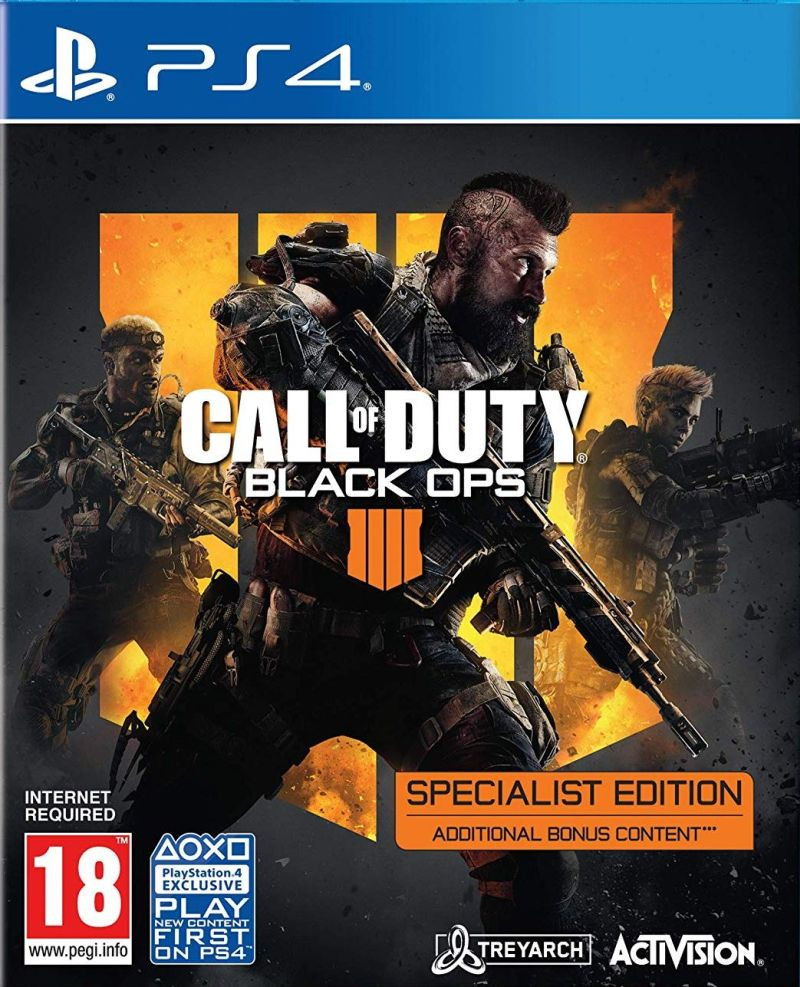 PS4 Call of Duty - Black Ops 4 Specialist Edition