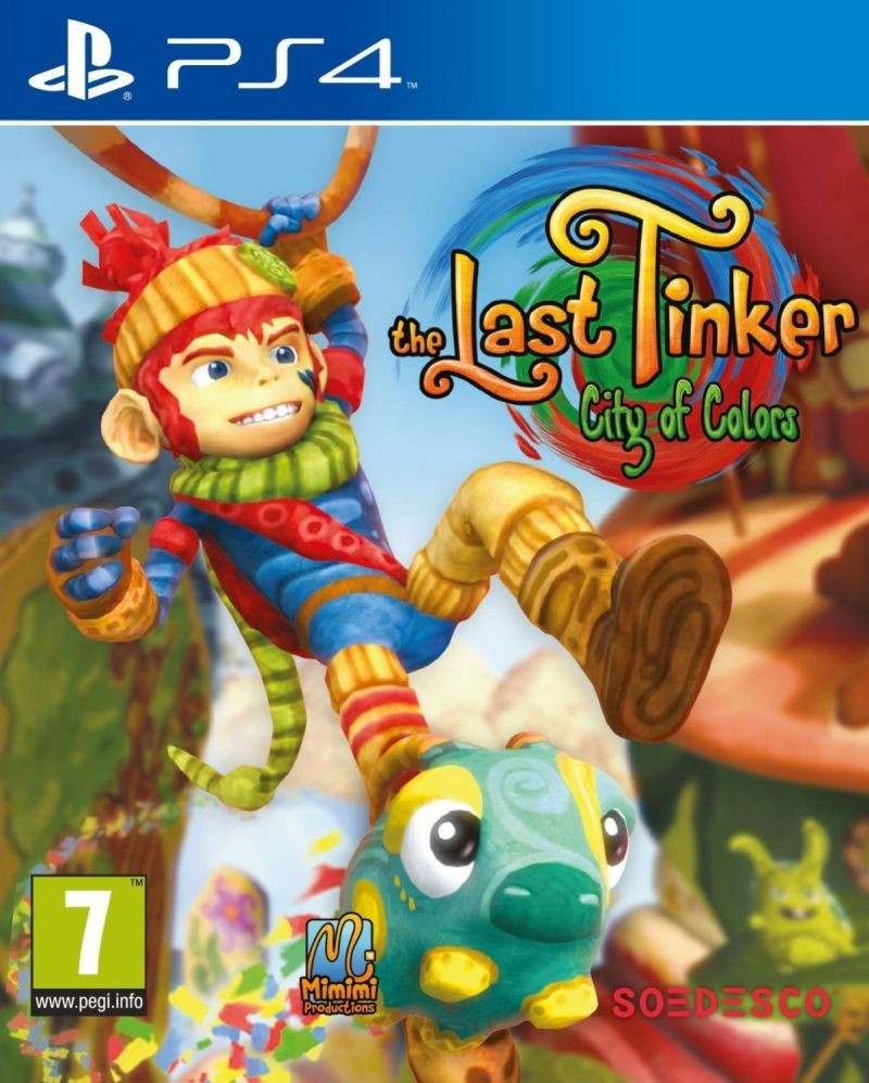 PS4 The Last Tinker City of Colors