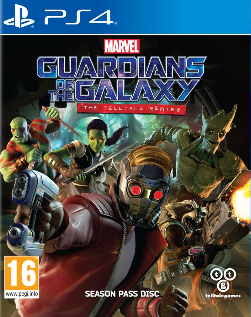 PS4 Marvels Guardians of the Galaxy - The Telltale Series