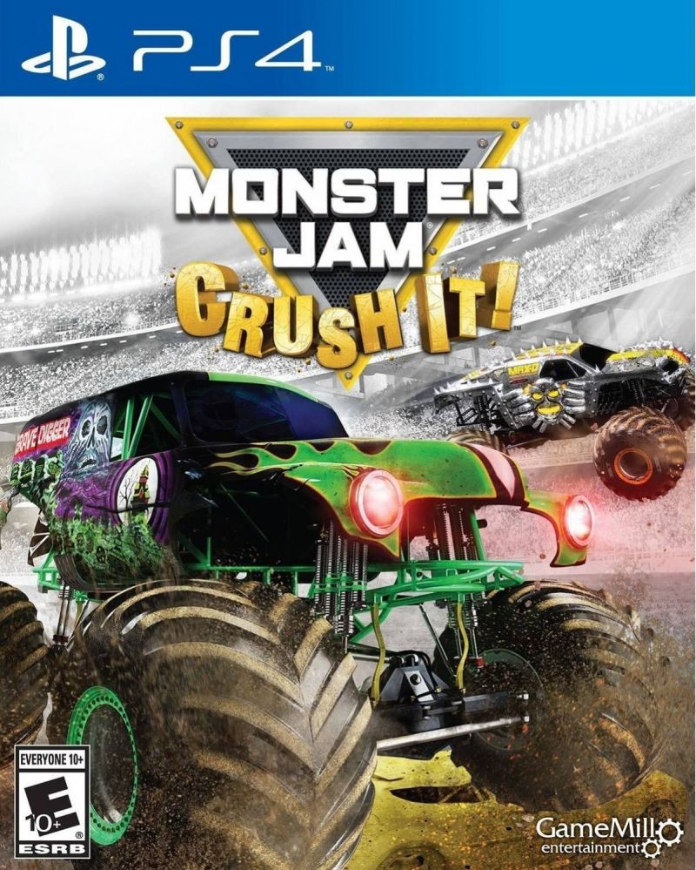 PS4 Monster Jam Crush it!