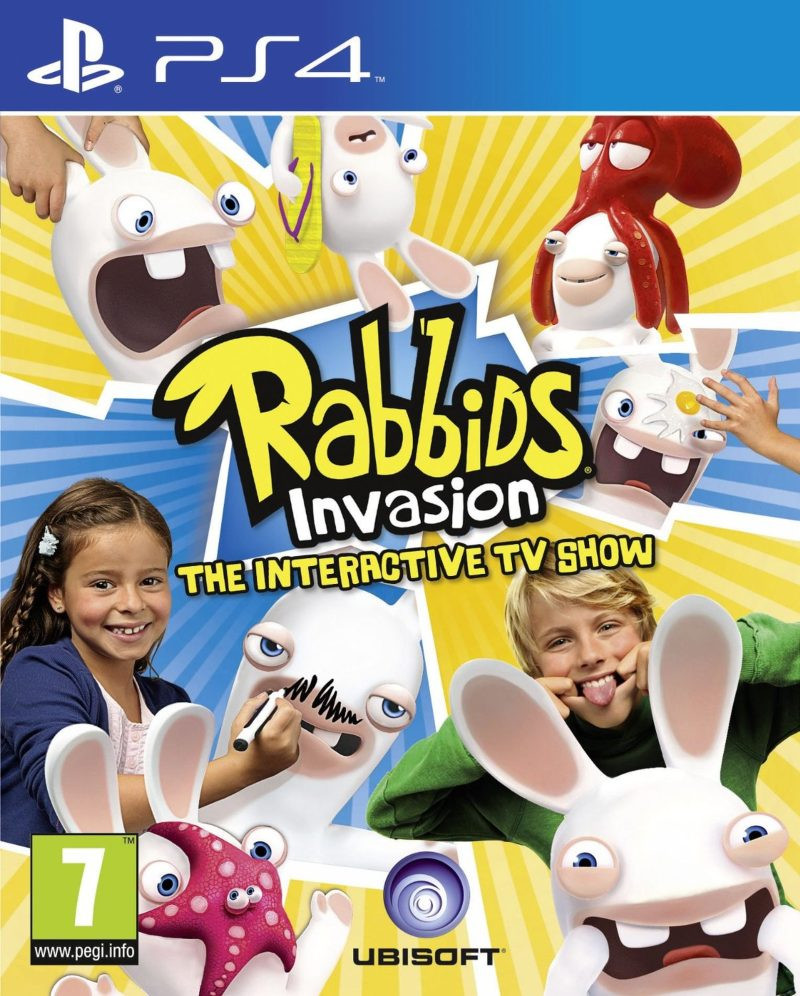 PS4 Rabbids Invasion - The Interactive TV Show