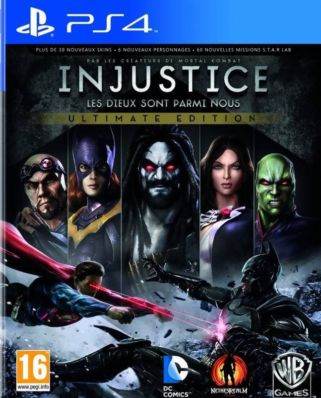 PS4 Injustice Utimate Edition