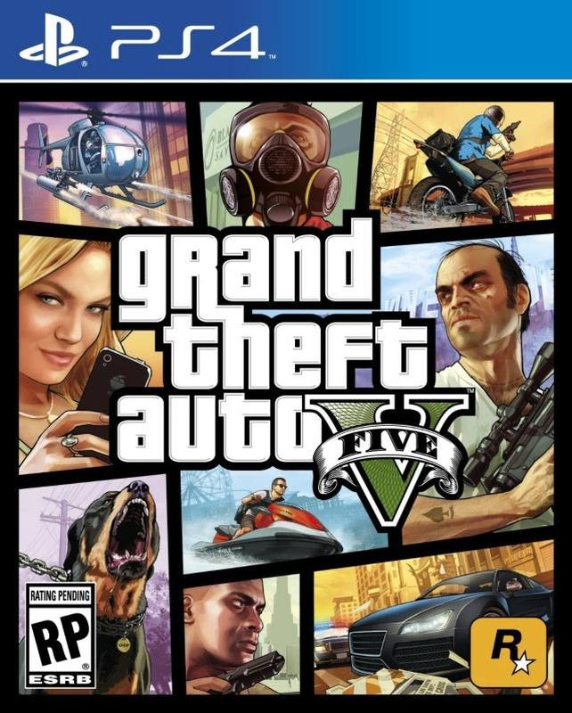 PS4 Grand Theft Auto V (GTA 5)