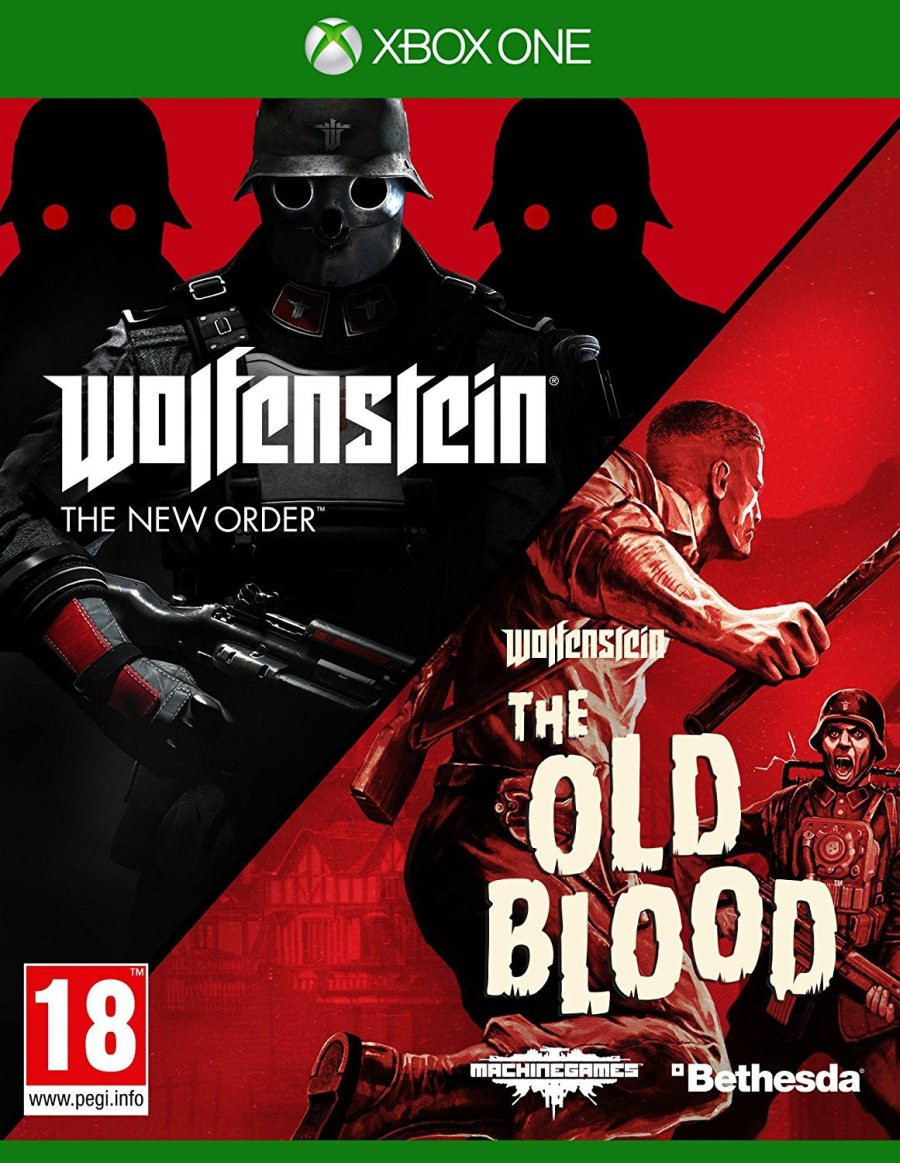 XBOX ONE Wolfenstein The New Order + Wolfenstein The Old Blood