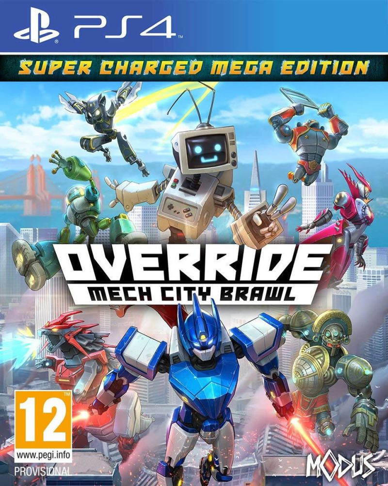 PS4 Override - Mech City Brawl - Super Charged Mega Edition