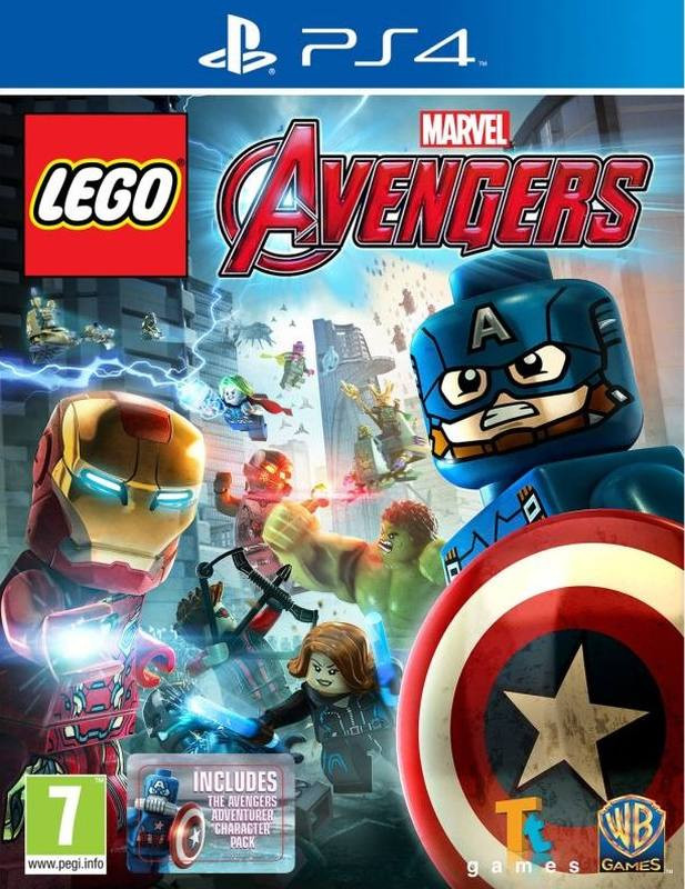 PS4 LEGO Marvels Avengers