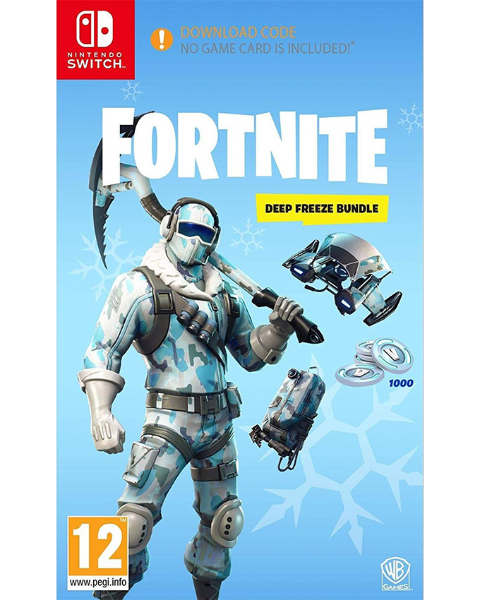 SWITCH Fortnite - Deep Freeze Bundle (Fortnajt igrica)