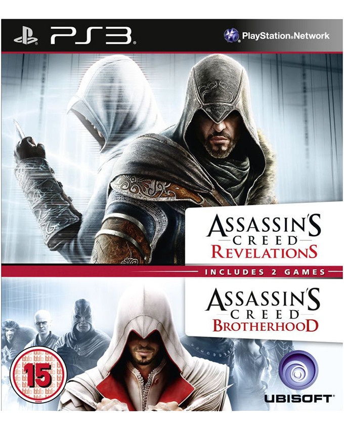 PS3 Assassins Creed Revelations + Assassins Creed Brotherhood