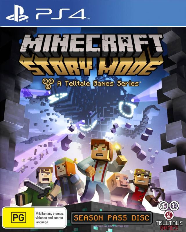 PS4 Minecraft Story Mode