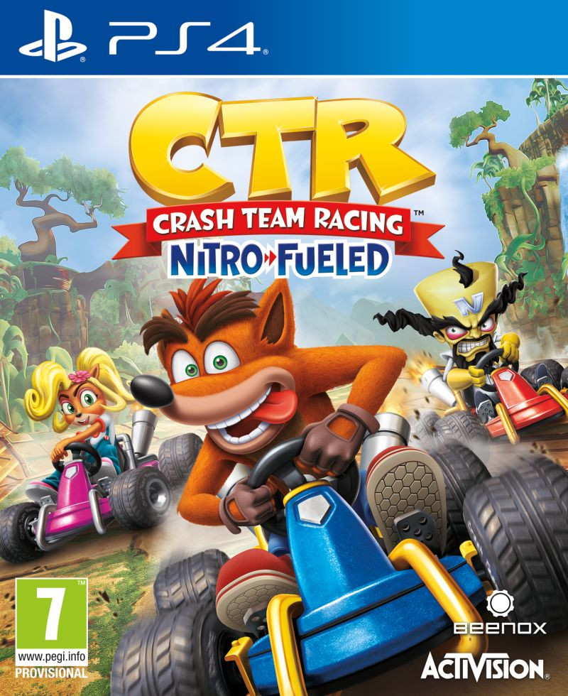 PS4 Crash Team Racing Nitro-Fueled