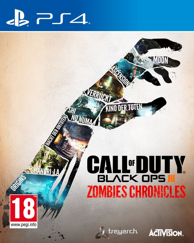 PS4 Call Of Duty - Black Ops 3 - Zombies Chronicles