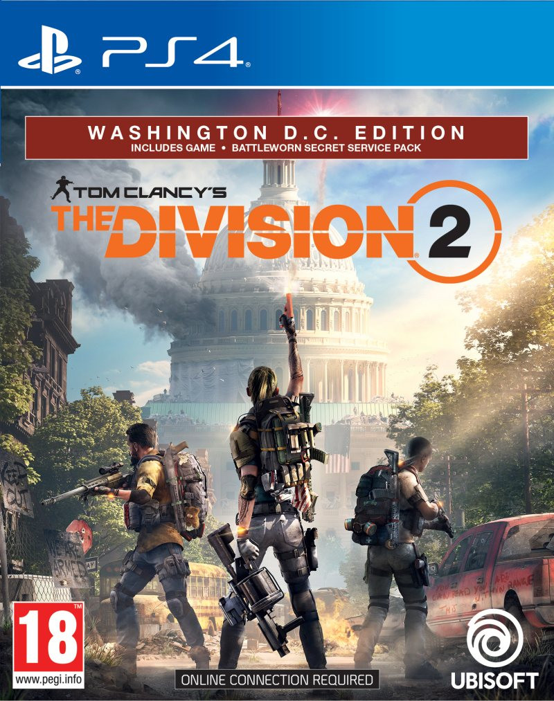 PS4 Tom Clancys: The Division 2 - Washington DC Deluxe Edition