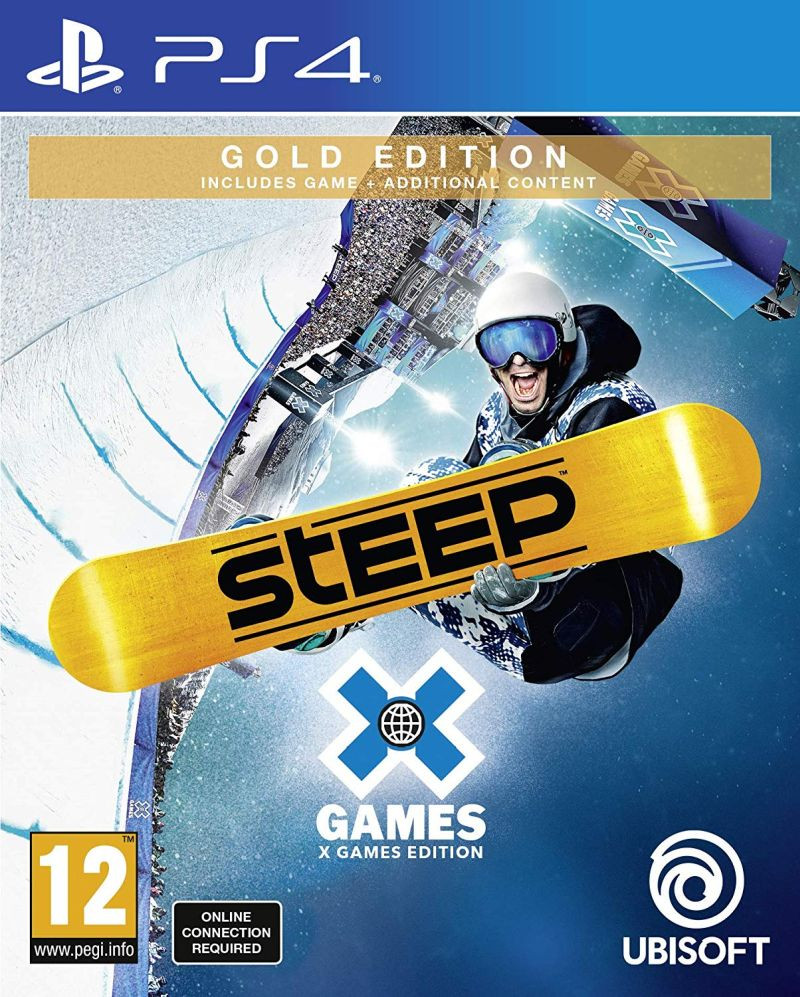 PS4 Steep X Games - Gold Edition
