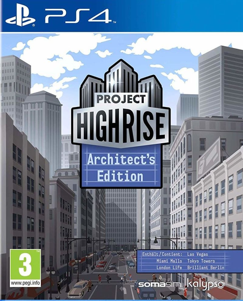 PS4 Project Highrise - Architetcts Edition