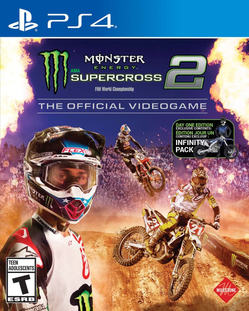 PS4 Monster Energy Supercross - The Official Videogame 2
