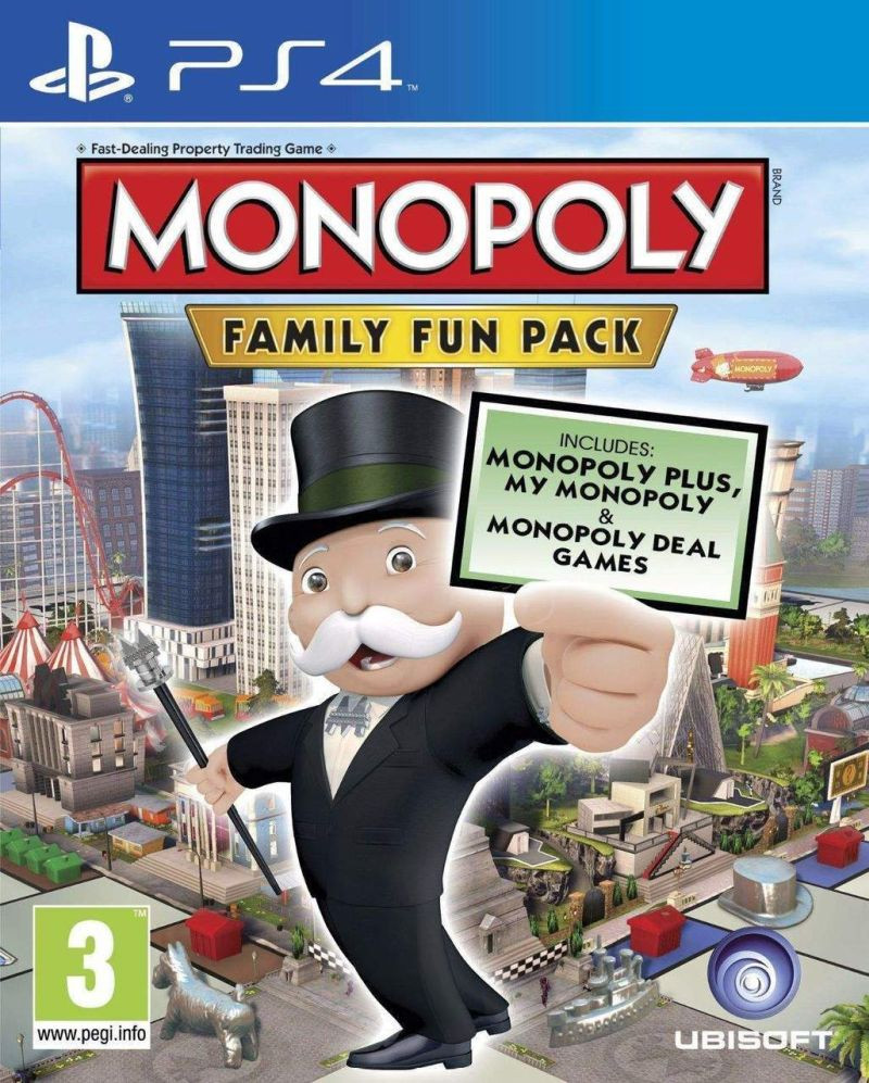 PS4 Monopoly - Deluxe Edition