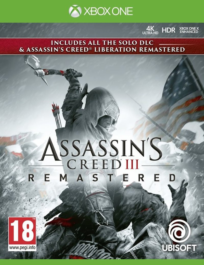 XBOX ONE Assassins Creed 3 Remastered