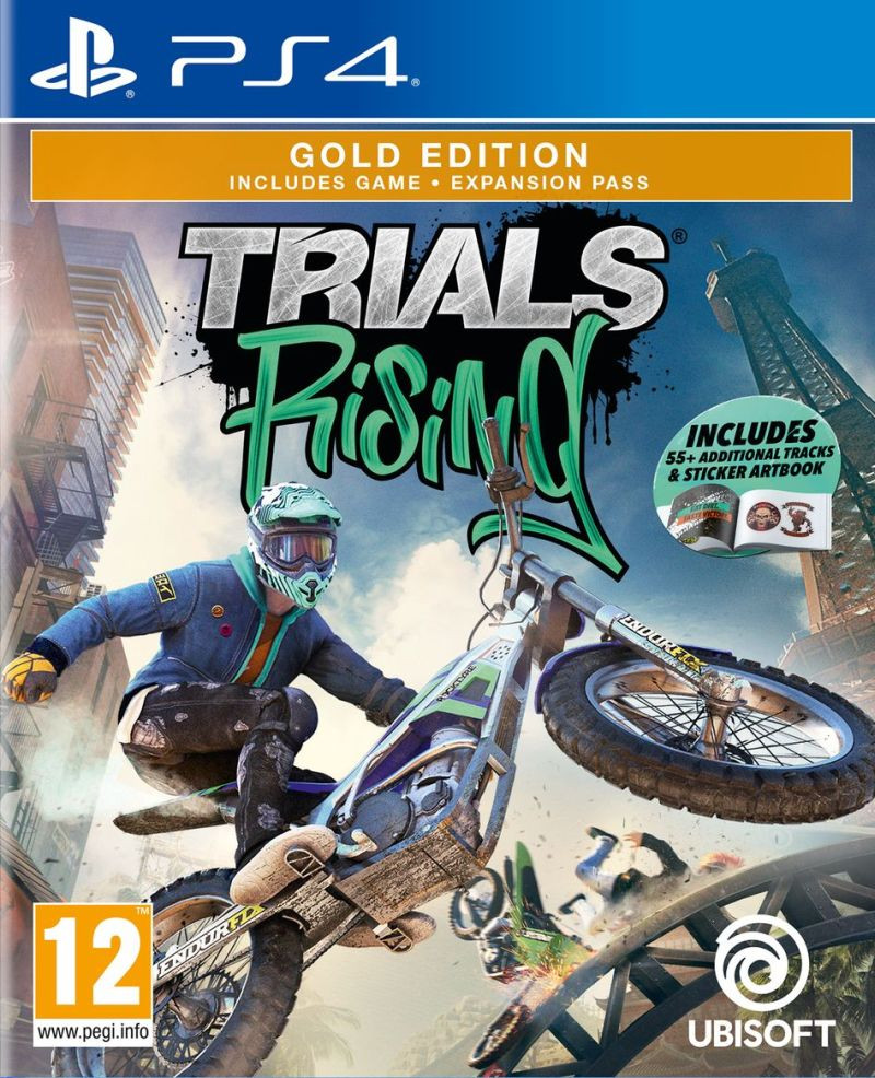 PS4 Trials Rising - Gold Edition