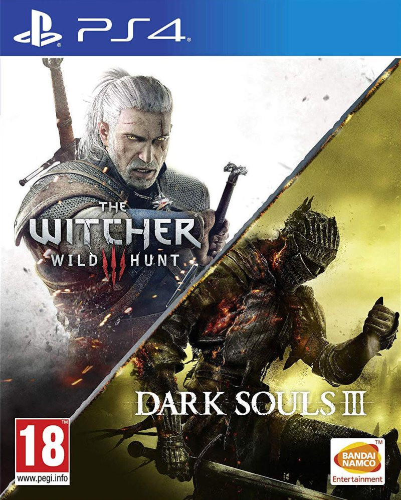 PS4 Dark Souls 3 + The Witcher 3 The Wild Hunt Compilation