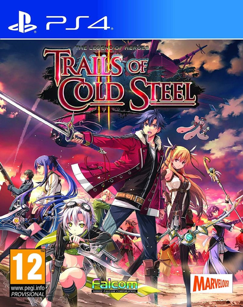 PS4 The Legend of Heroes - Trails of Cold Steel 2