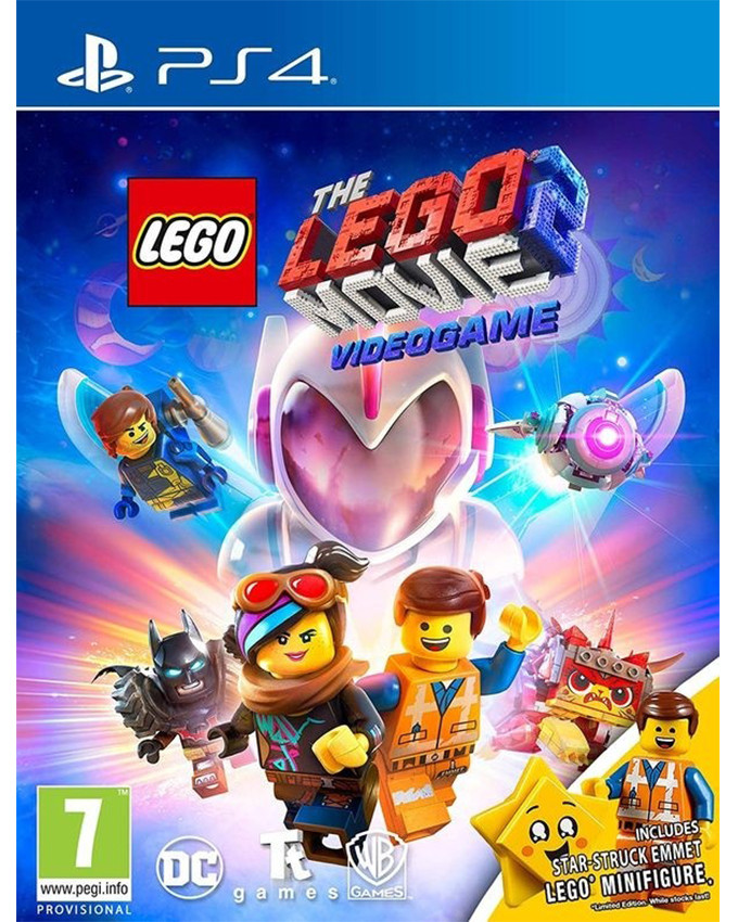 PS4 LEGO The Movie 2 - Video Game Toy Edition