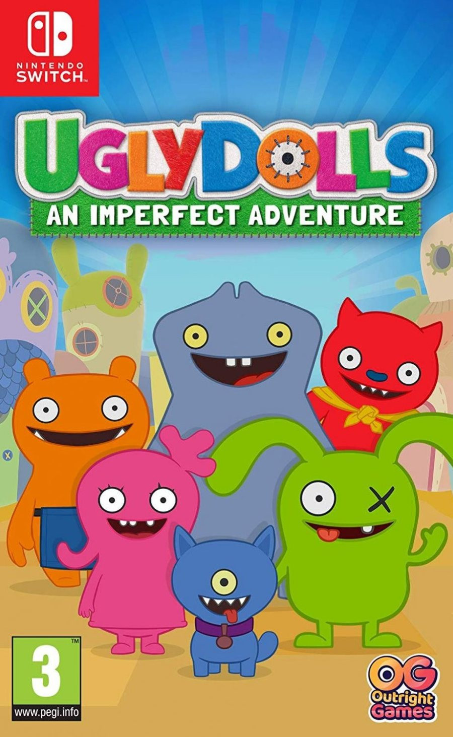 SWITCH Ugly Dolls - An Imperfect Adventure