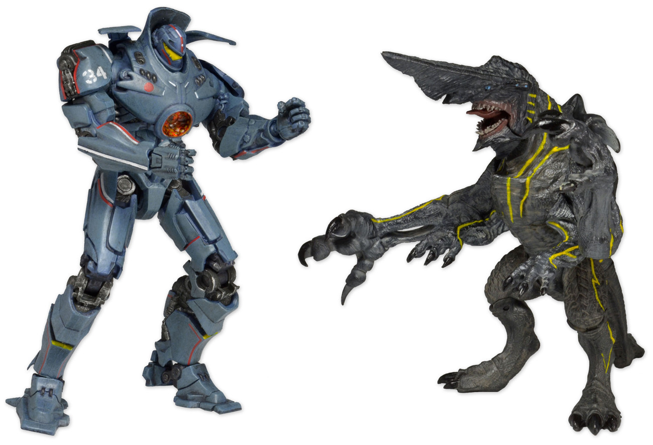 Figura Pacific Rim: Gipsy vs Knifehead 7 inch action figure 2-pack