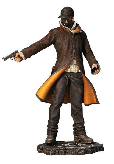 Figura Watch Dogs PVC Statue Aiden Pearce 25cm