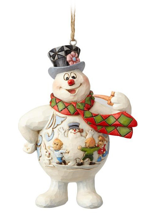 Figura Wonderland Snowman Hanging Ornament Figure