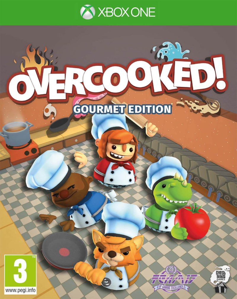 XBOX ONE Overcooked! Gourmet Edition