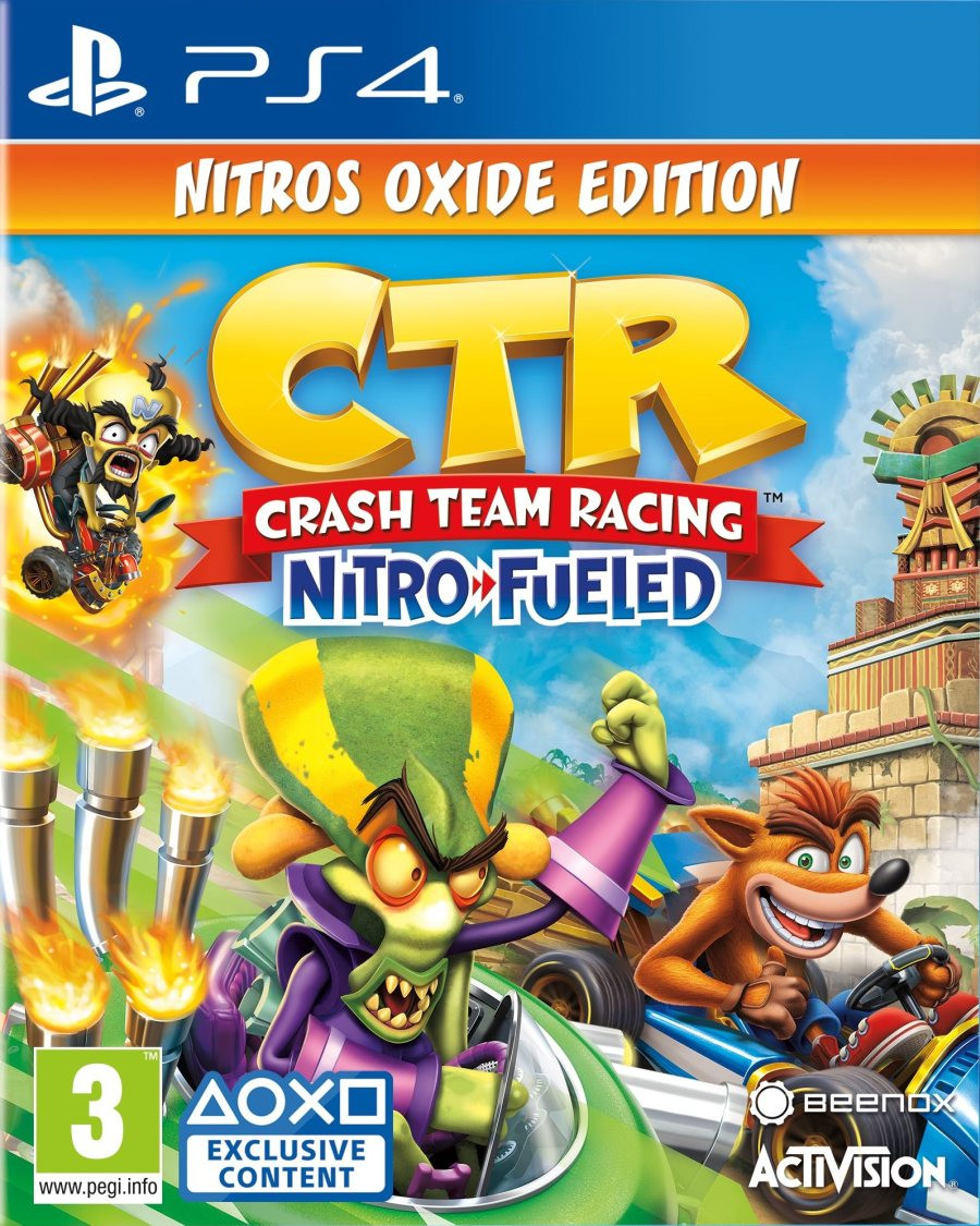 PS4 Crash Team Racing Nitro-Fueled - Nitros Oxide Edition