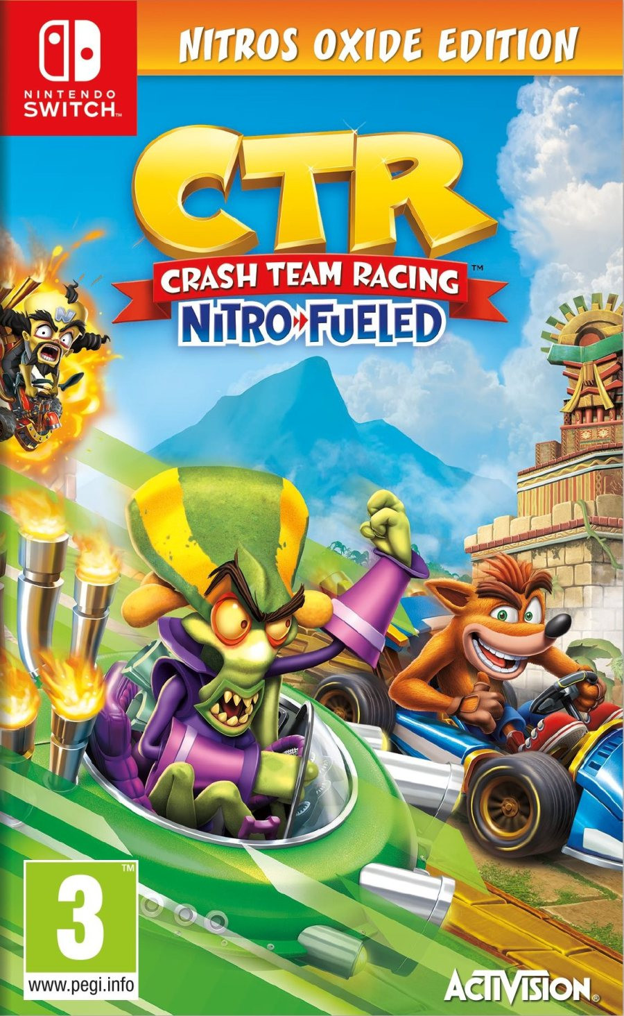 SWITCH Crash Team Racing Nitro-Fueled - Nitros Oxide Edition