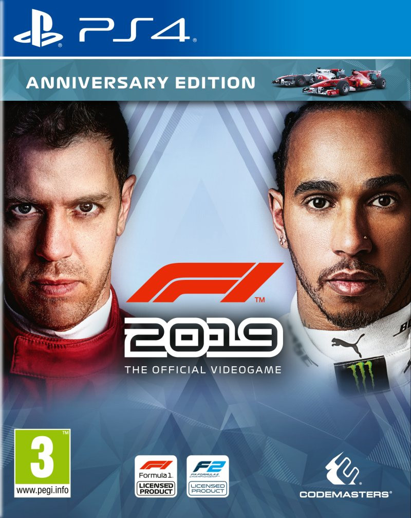 PS4 F1 2019 - Anniversary Edition - Formula 1 2019