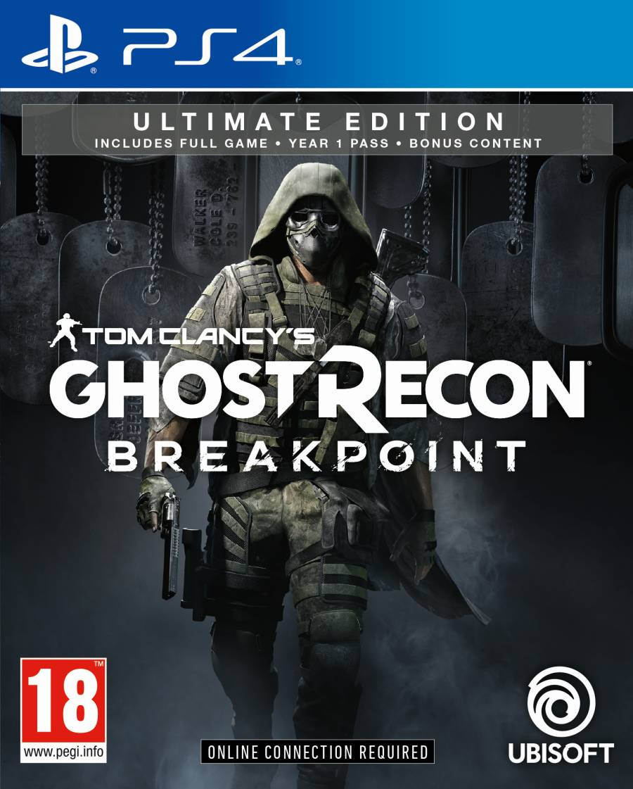 PS4 Tom Clancys Ghost Recon Breakpoint - Ultimate Edition