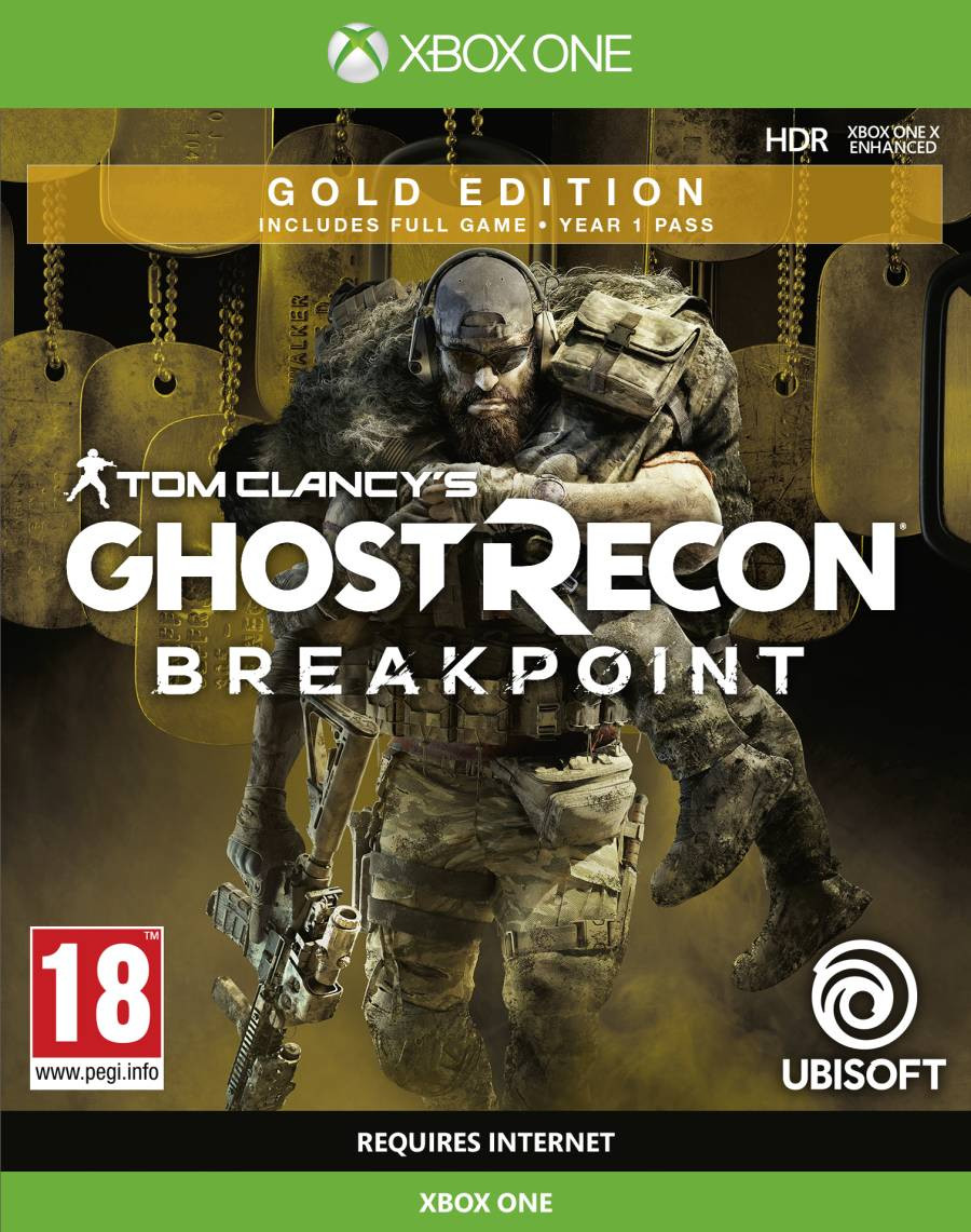 XBOX ONE Tom Clancys Ghost Recon Breakpoint - Gold Edition