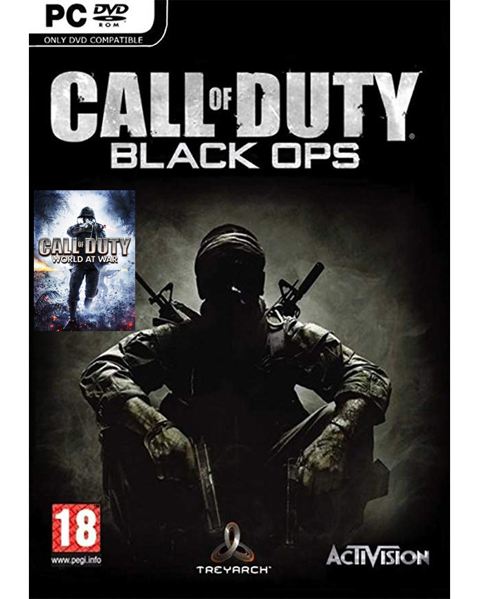PCG Call of Duty - Black Ops + Call of Duty World At War