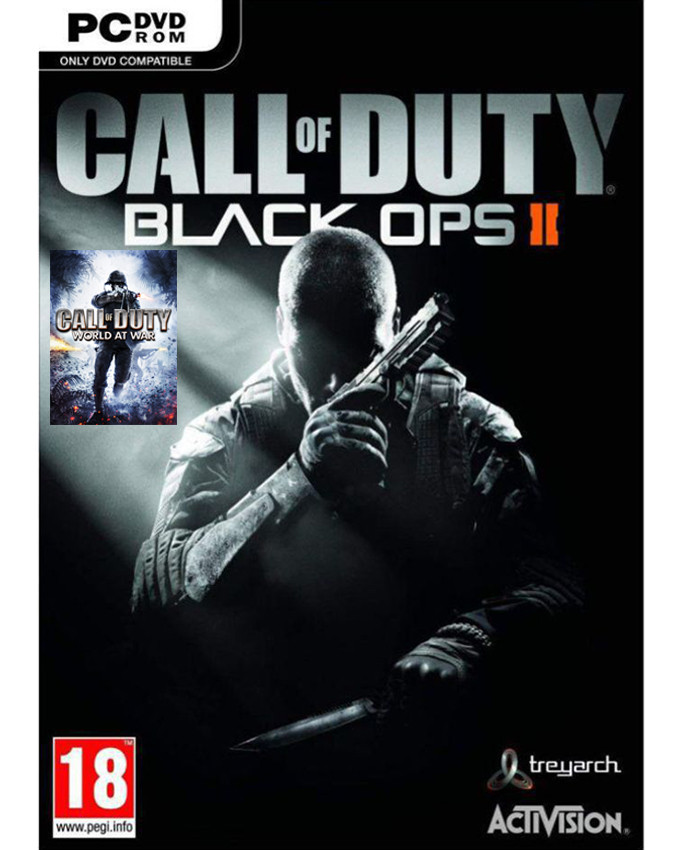 PCG Call of Duty - Black Ops 2 + Call of Duty World At War