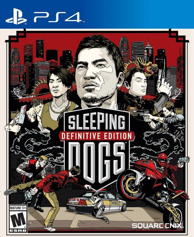 PS4 Sleeping Dogs - Definitive Edition