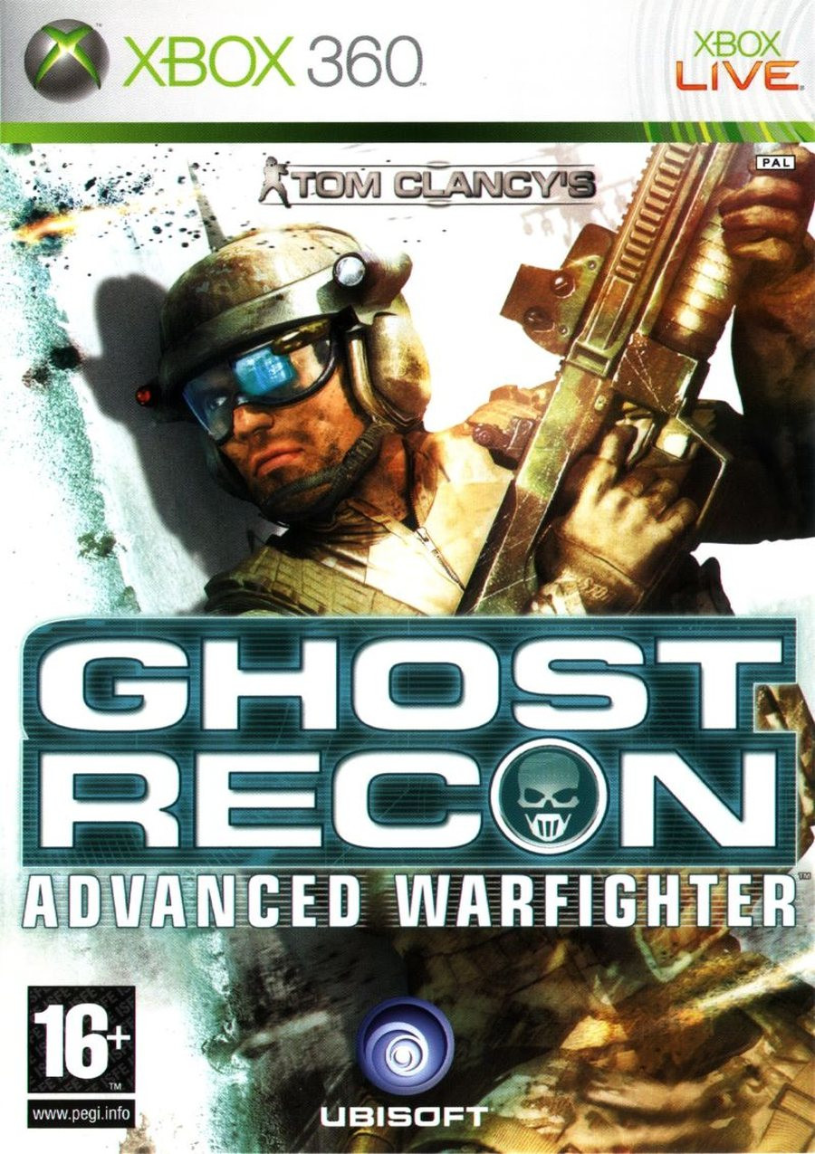 XBOX 360 Ghost Recon Advanced Warfigher