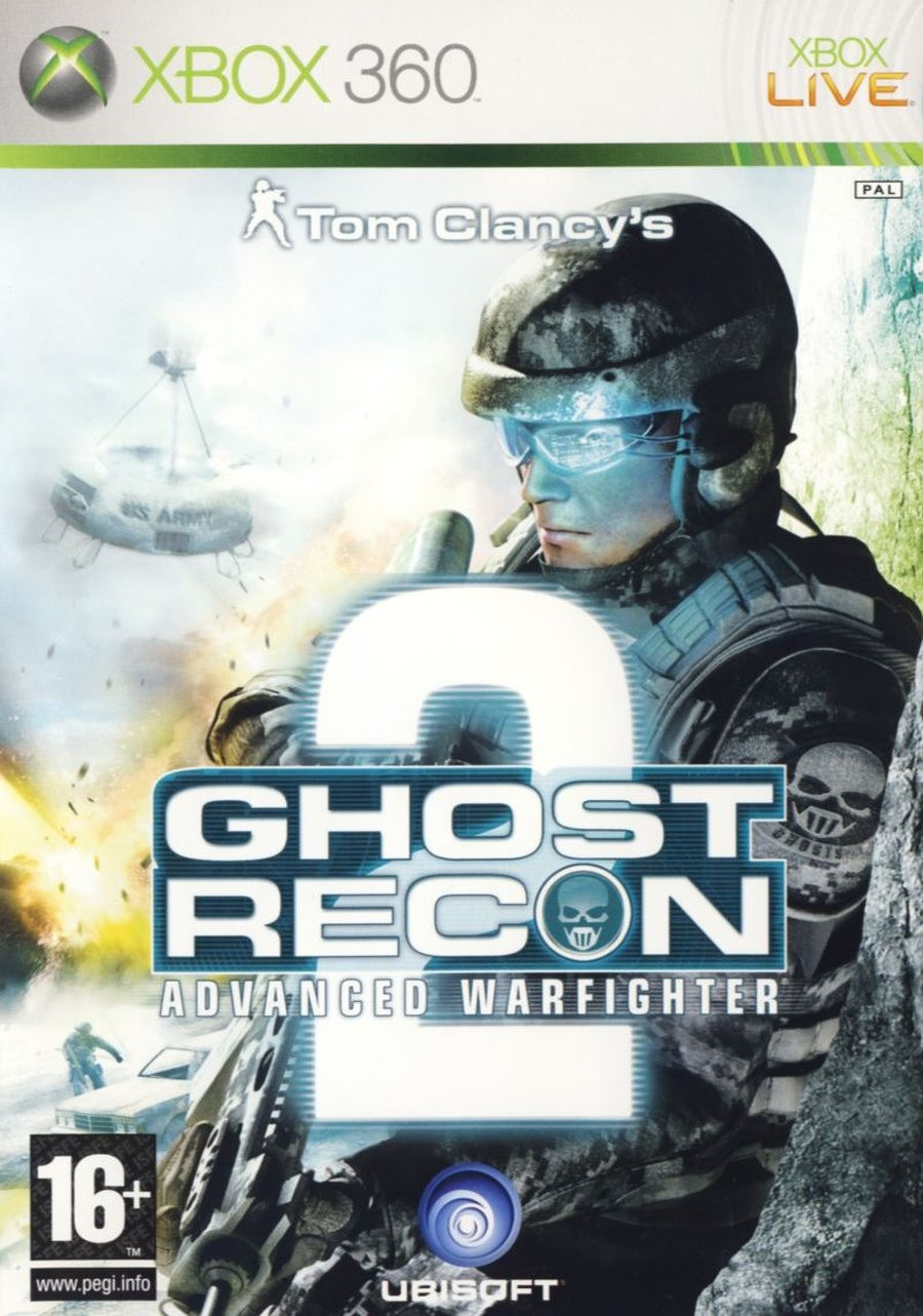 XBOX 360 Ghost Recon Advanced Warfigher 2